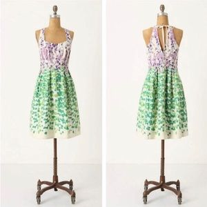 Anthropologie Maeve Wisteria Ivy Dress